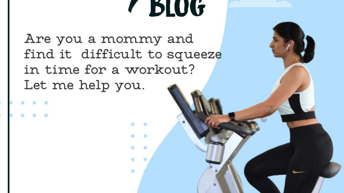 Tips To Help Mommies Fit Workout Into Their Busy Schedule
